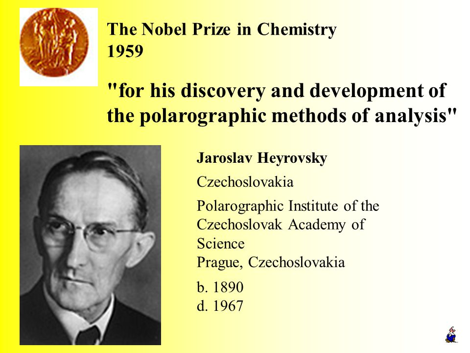 The Nobel Prize in Chemistry 1959