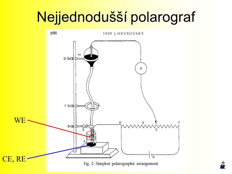 Nejjednodušší polarograf