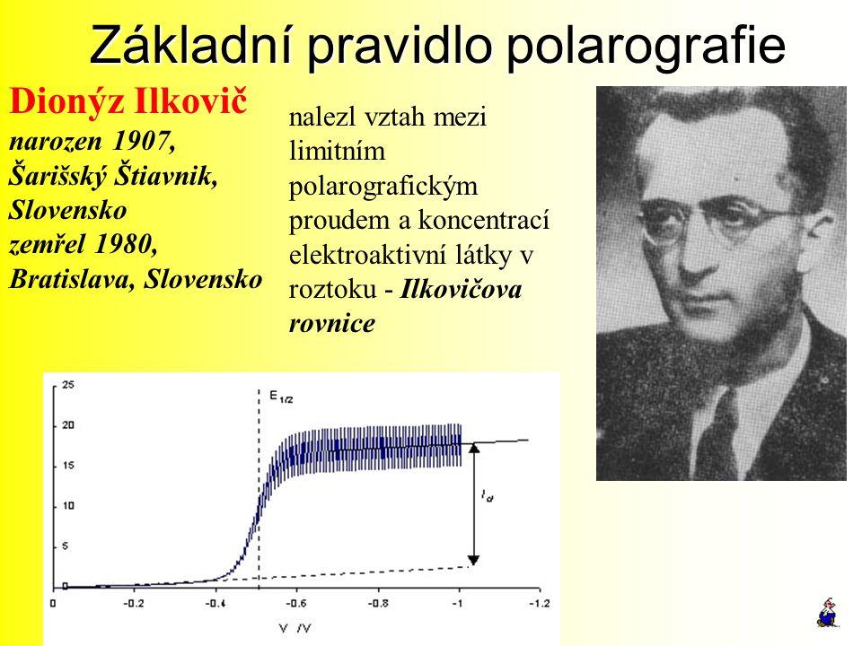 Základní pravidlo polarografie