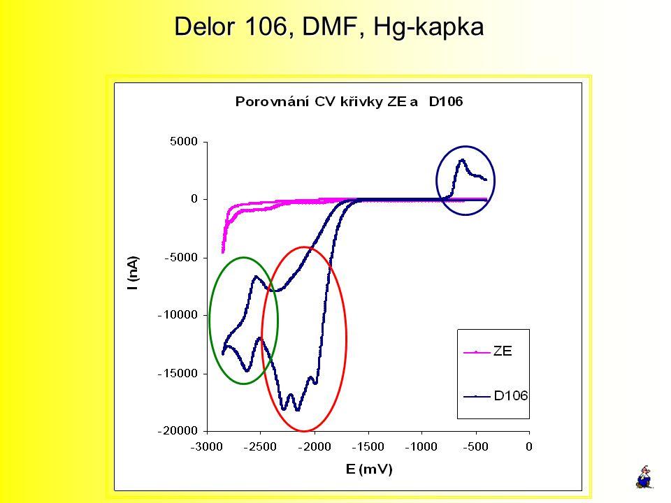 Delor 106, DMF, Hg-kapka
