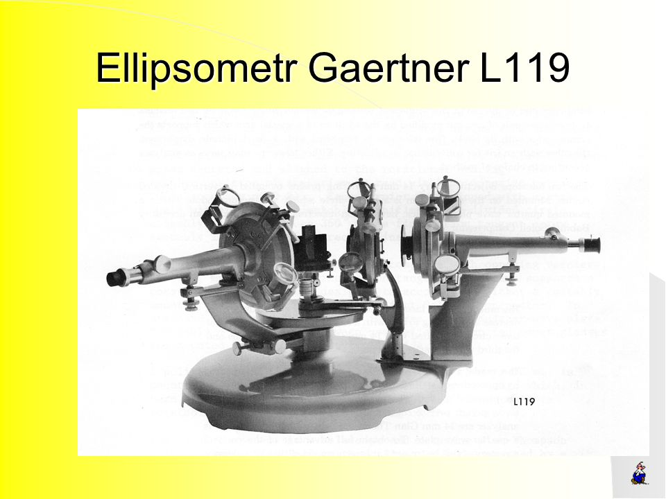 Ellipsometr Gaertner L119