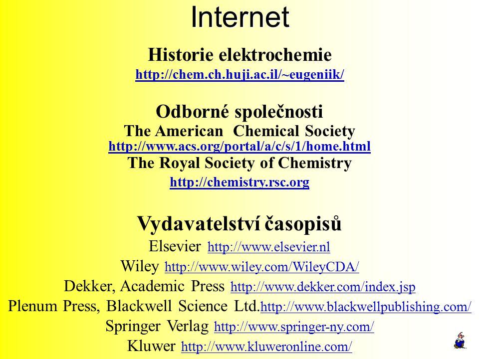 Historie elektrochemie Vydavatelství časopisů