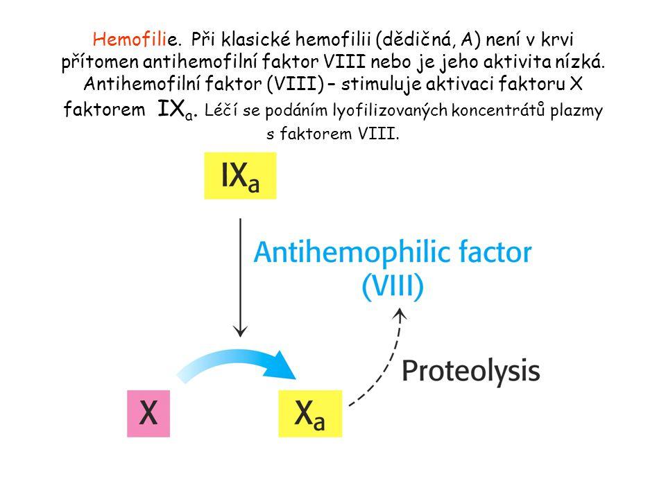 Hemofilie.
