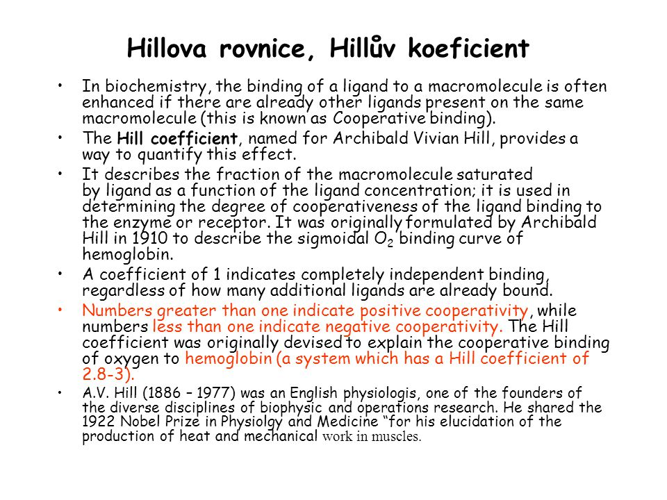 Hillova rovnice, Hillův koeficient