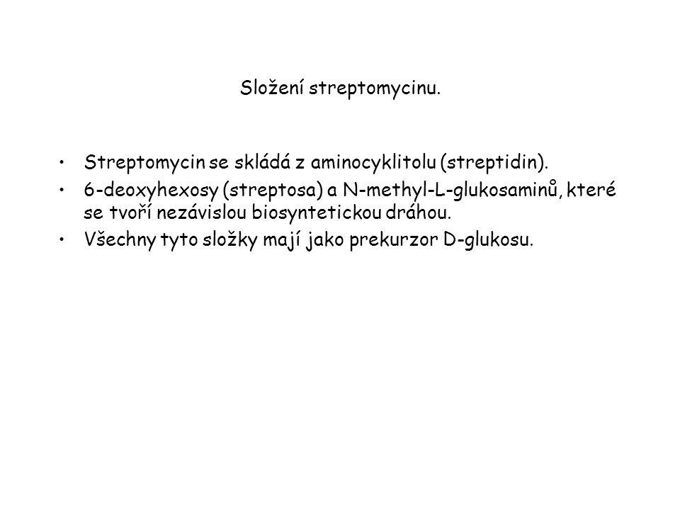 Složení streptomycinu.