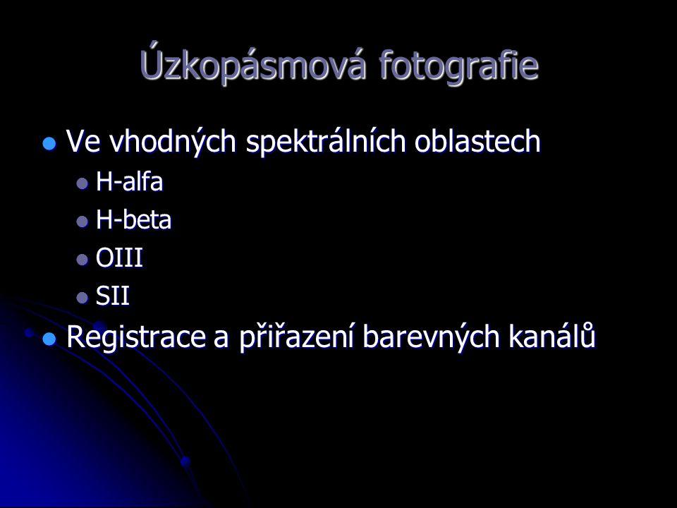 Úzkopásmová fotografie