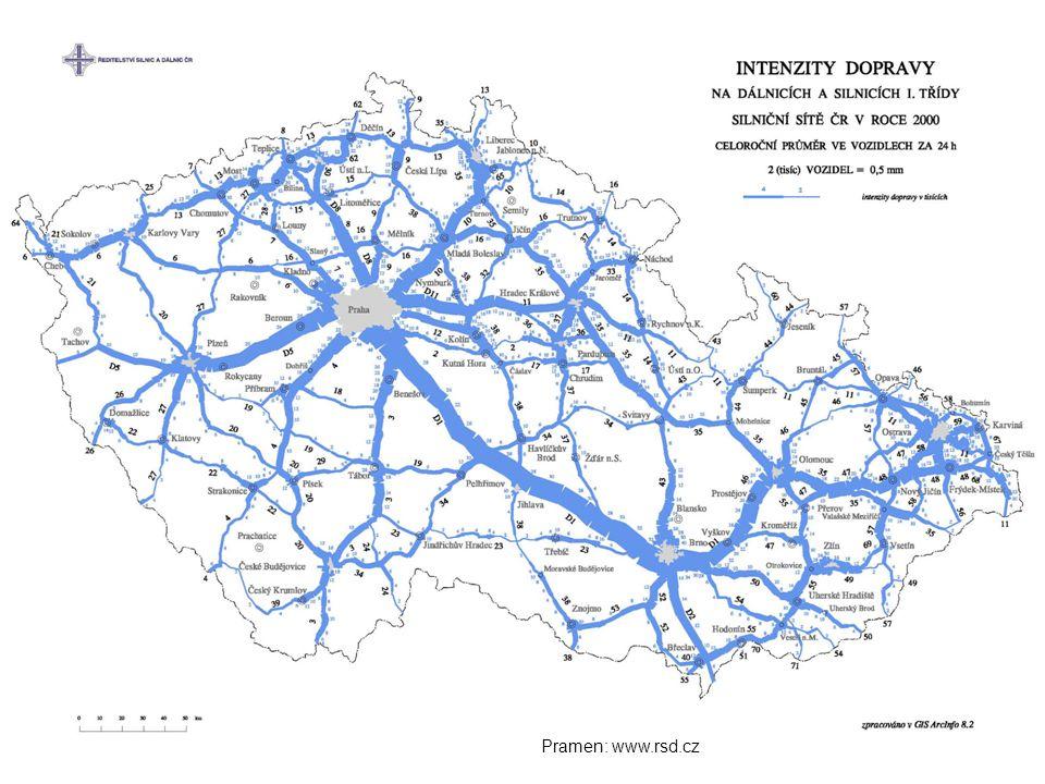 Pramen: www.rsd.cz