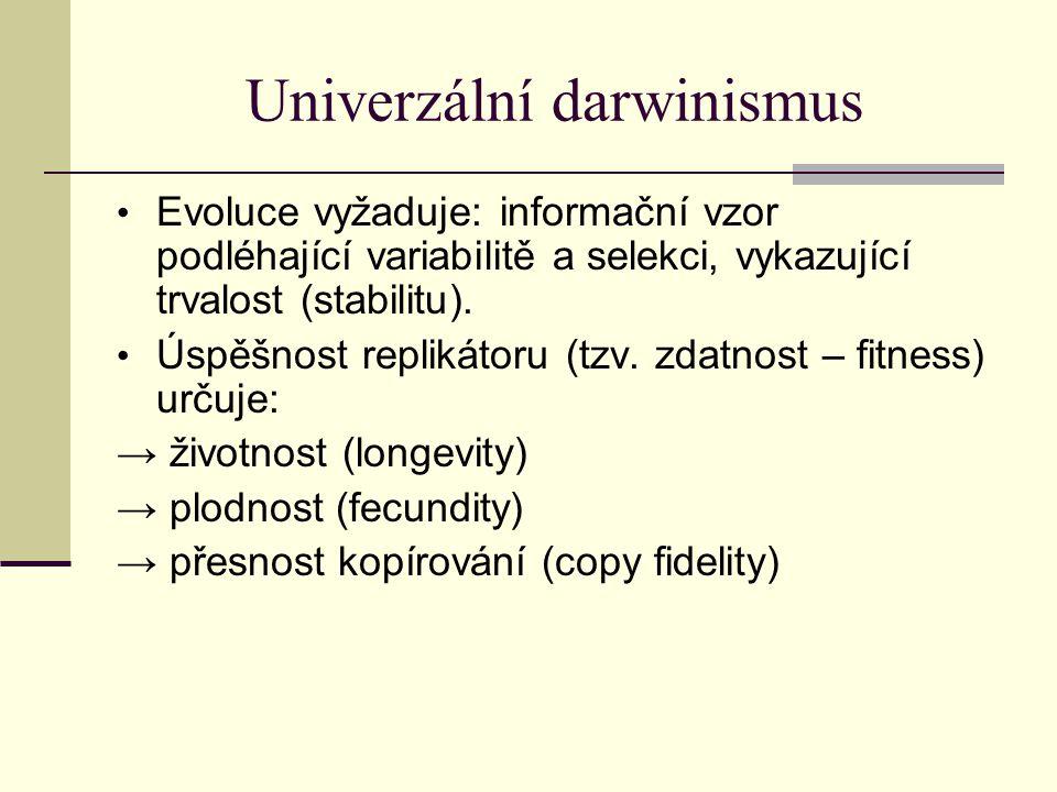 Univerzální darwinismus
