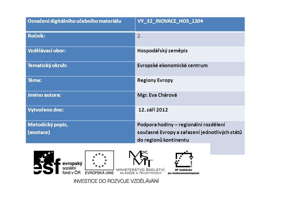 Označení digitálního učebního materiálu