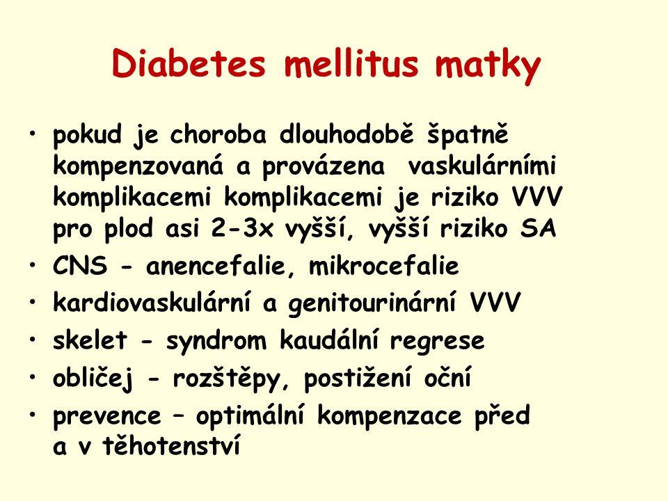 Diabetes mellitus matky