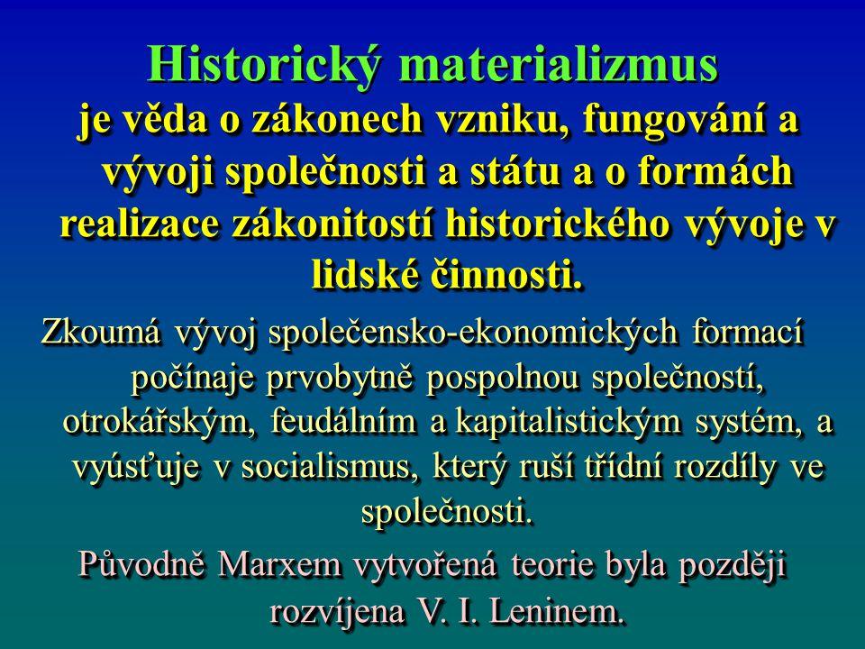 Historický materializmus
