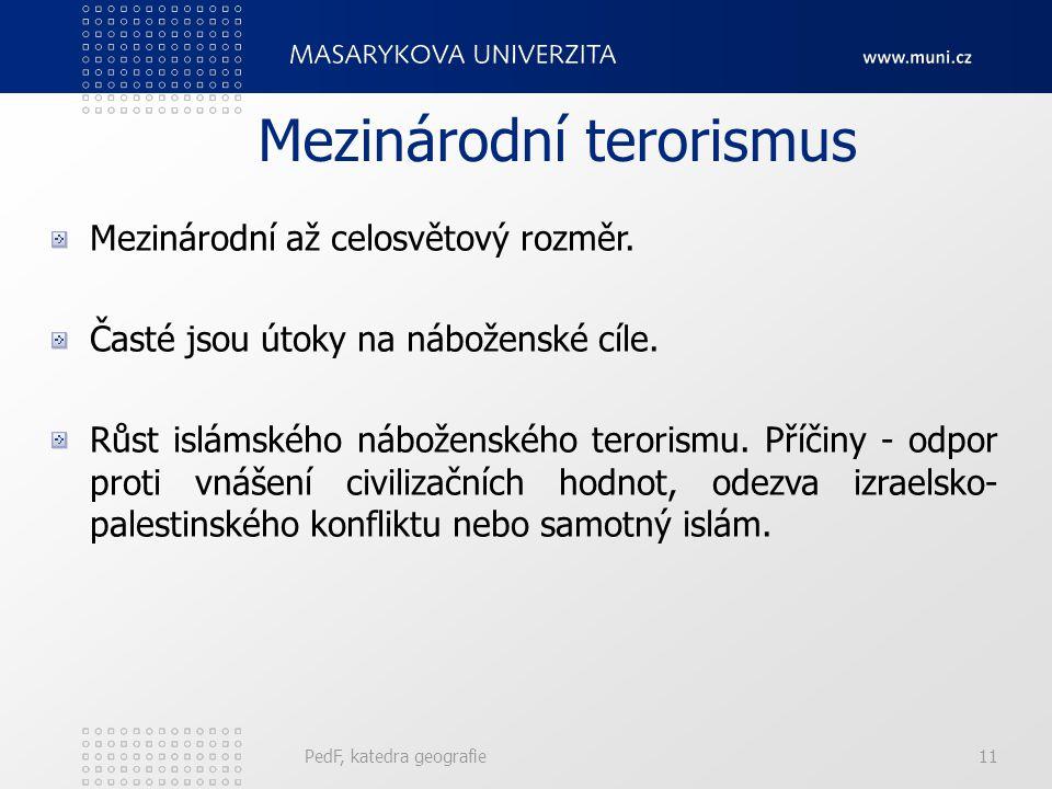 Mezinárodní terorismus