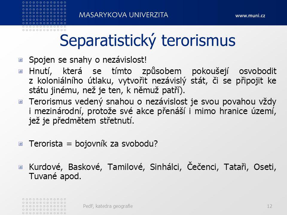 Separatistický terorismus