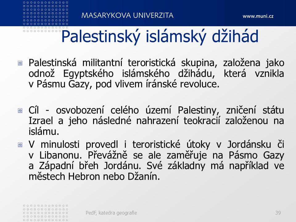 Palestinský islámský džihád