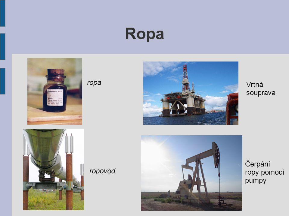 Ropa ropa Vrtná souprava Čerpání ropy pomocí pumpy ropovod
