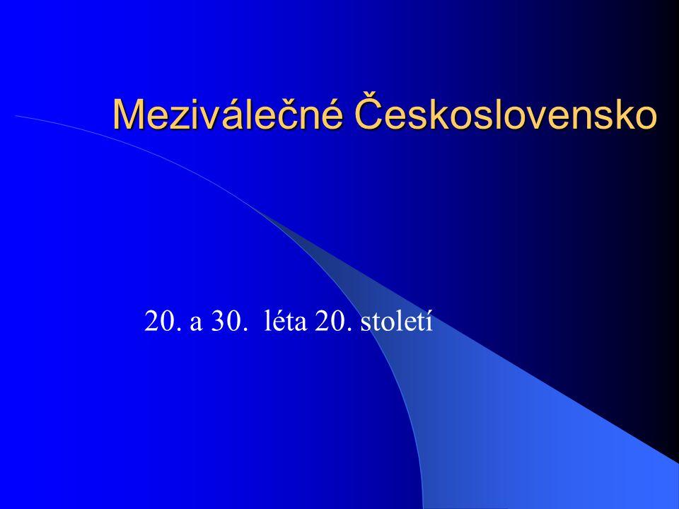 Meziválečné Československo