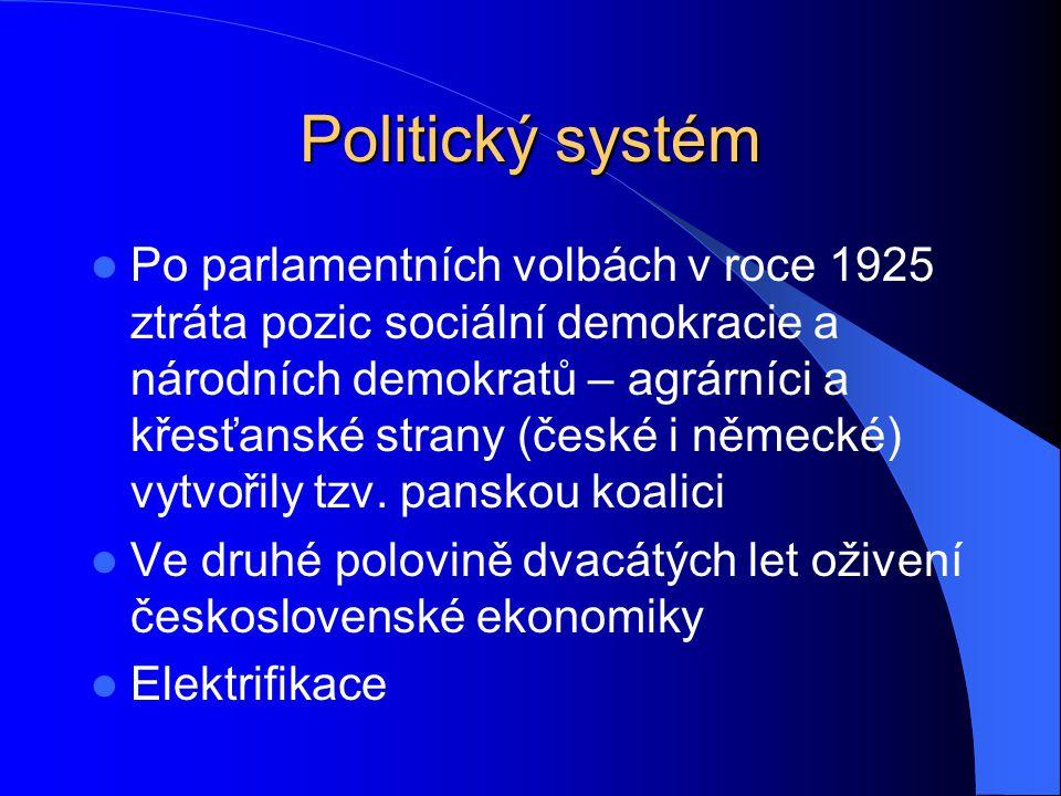 Politický systém