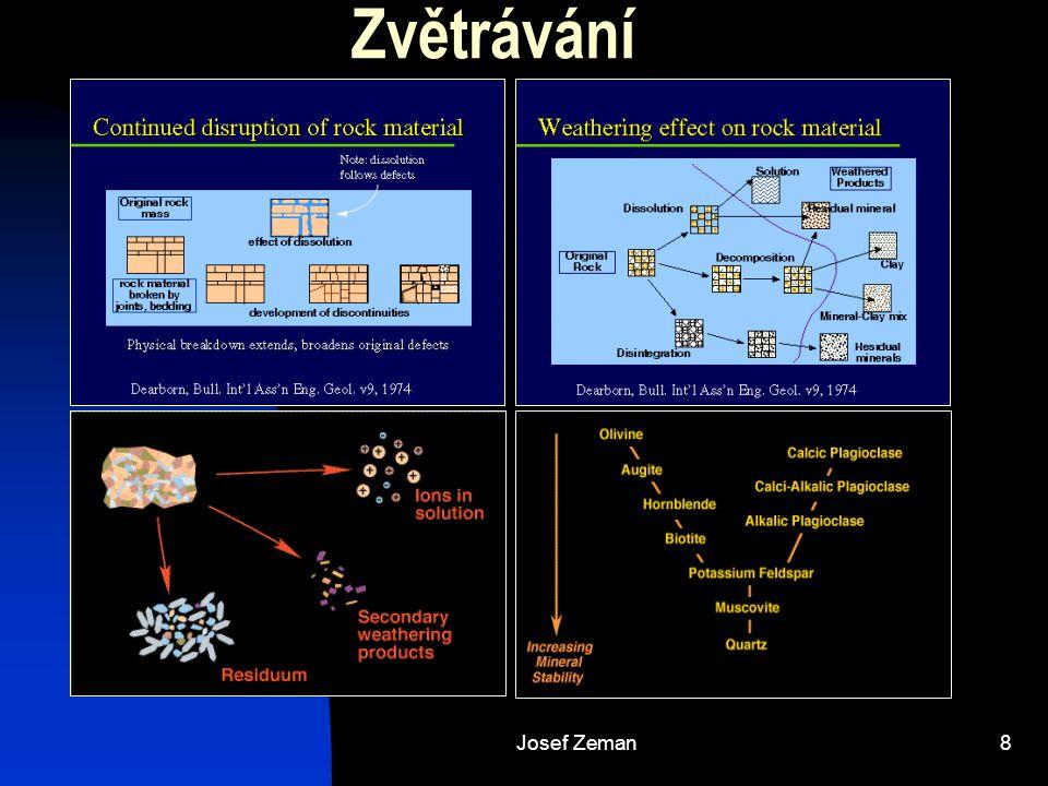 Zvětrávání Josef Zeman