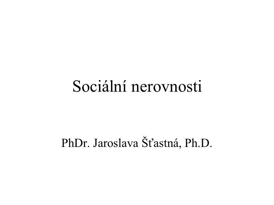 PhDr. Jaroslava Šťastná, Ph.D.