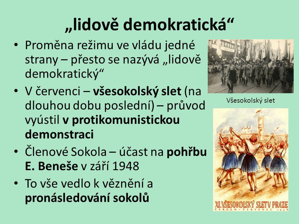 """""""lidově demokratická"""