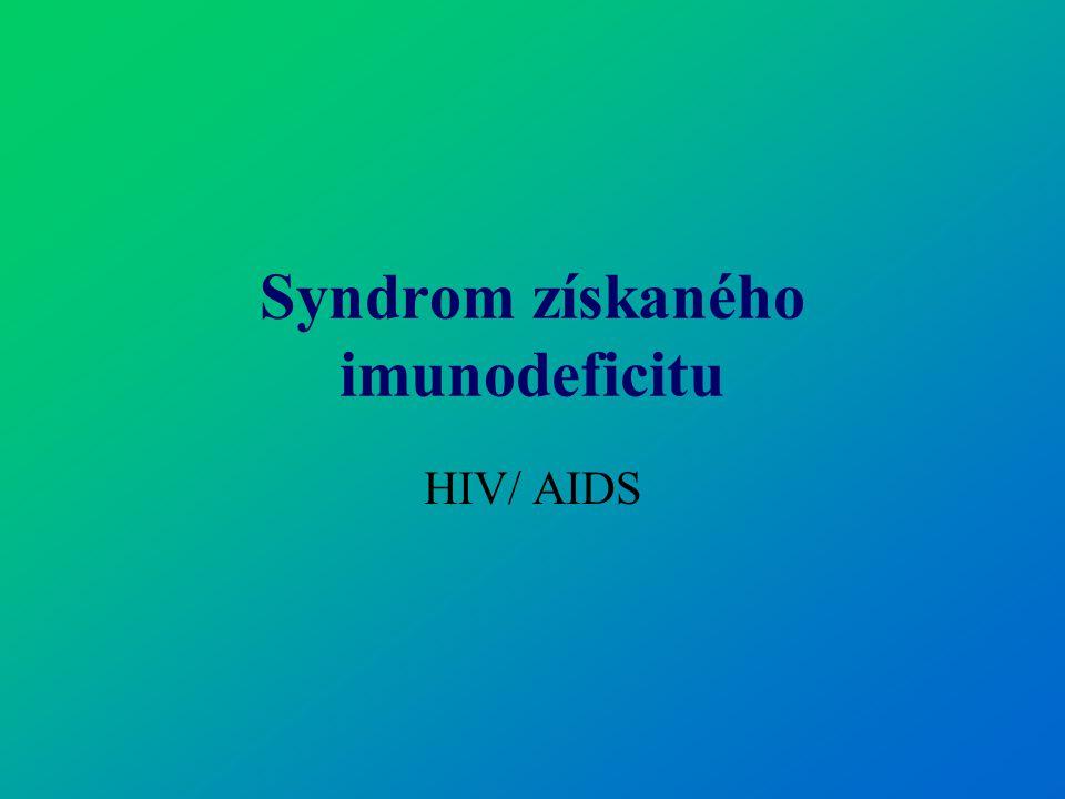 Syndrom získaného imunodeficitu