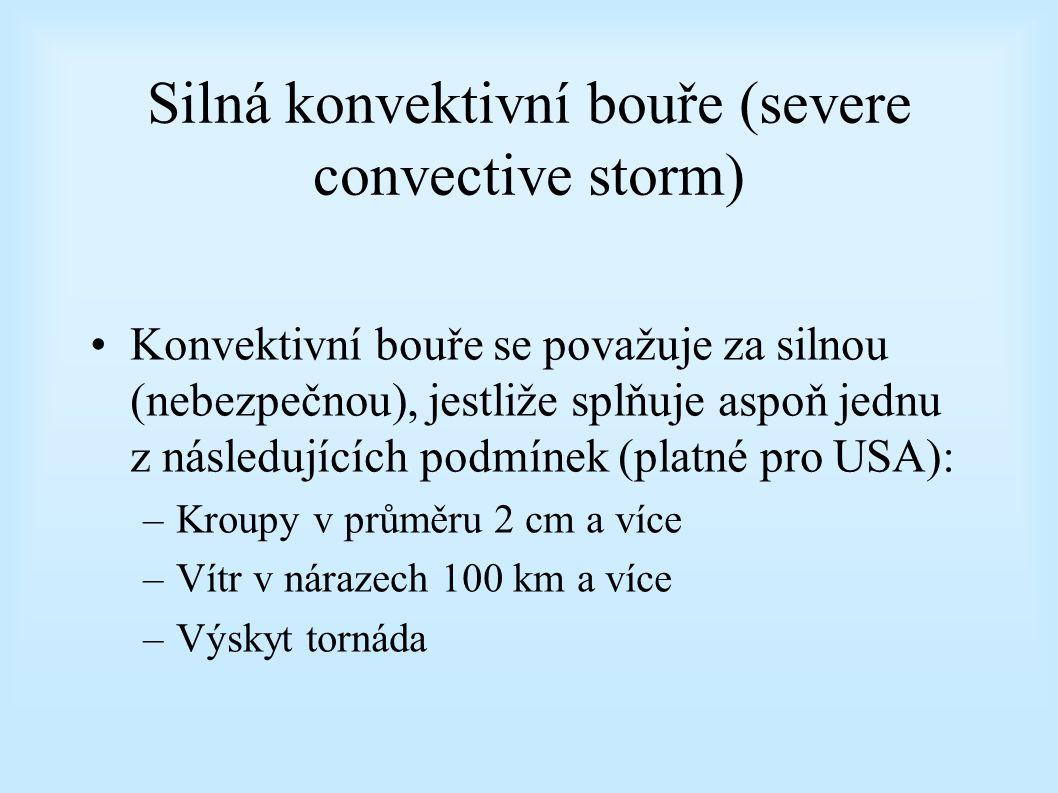 Silná konvektivní bouře (severe convective storm)