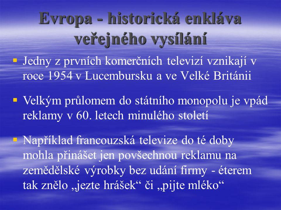Evropa - historická enkláva veřejného vysílání