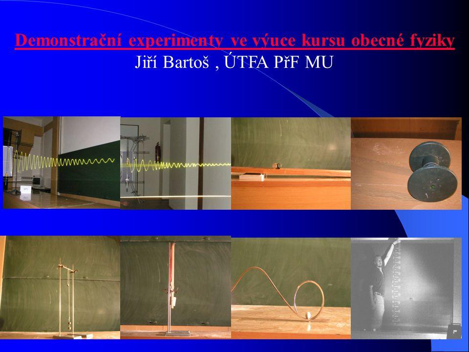 Demonstrační experimenty ve výuce kursu obecné fyziky