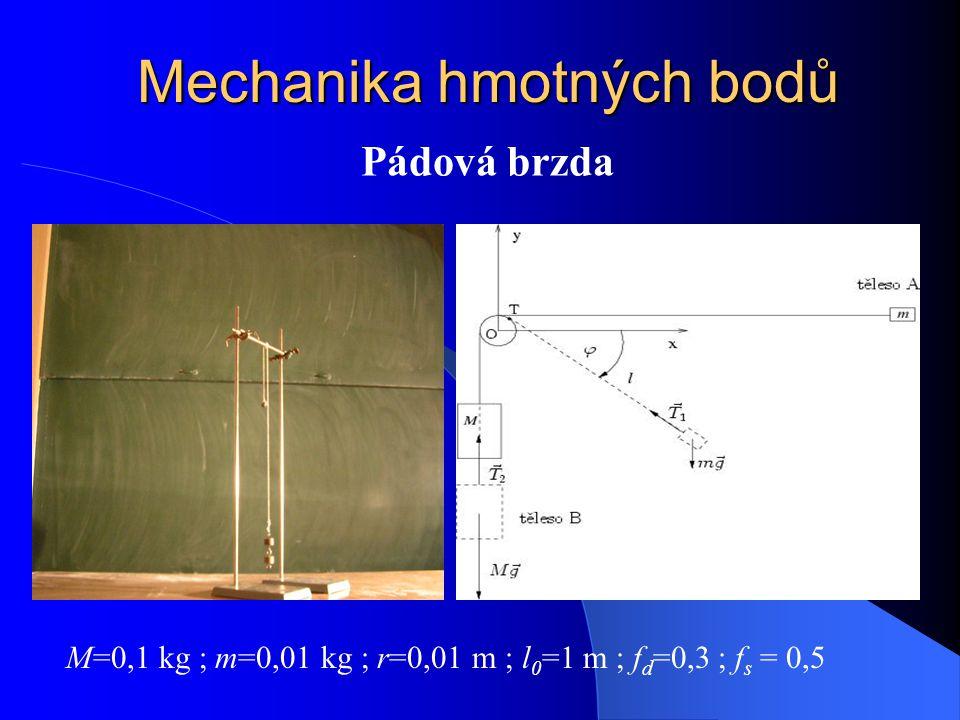 Mechanika hmotných bodů