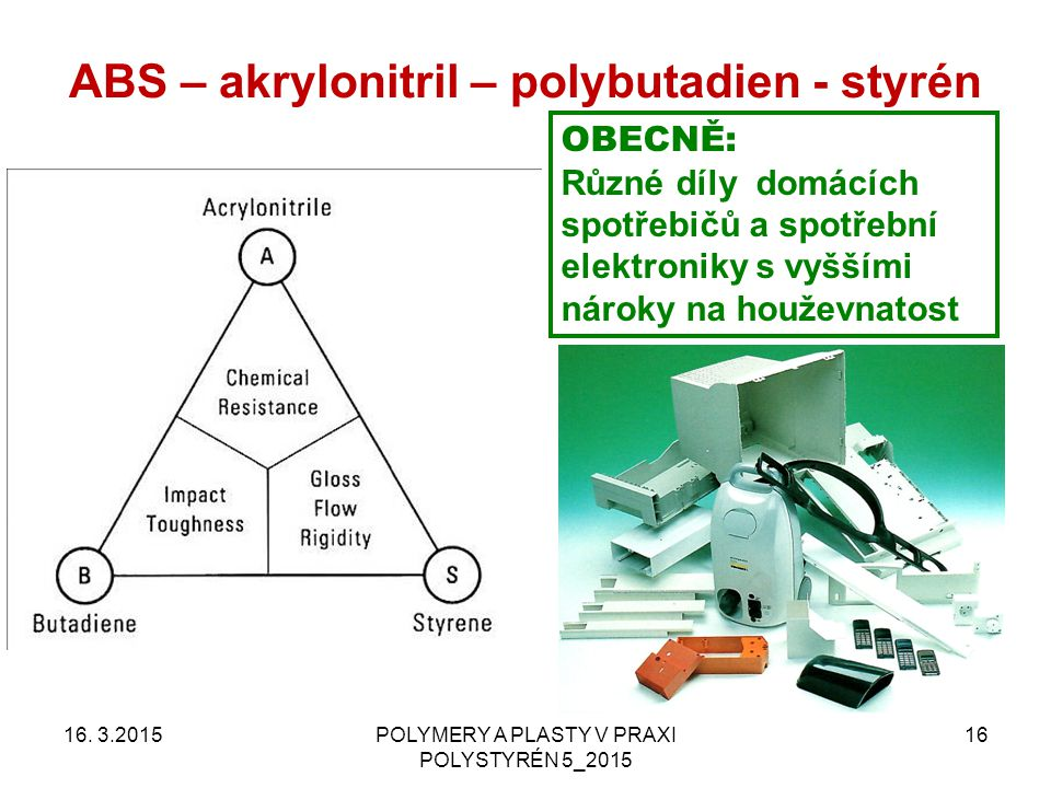 ABS – akrylonitril – polybutadien - styrén
