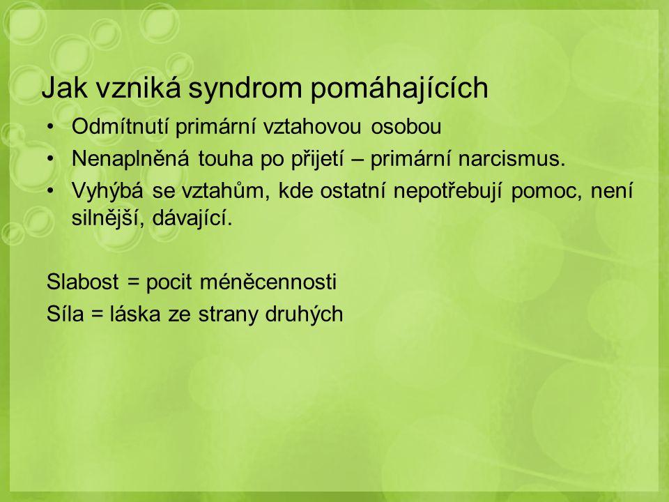 Jak vzniká syndrom pomáhajících