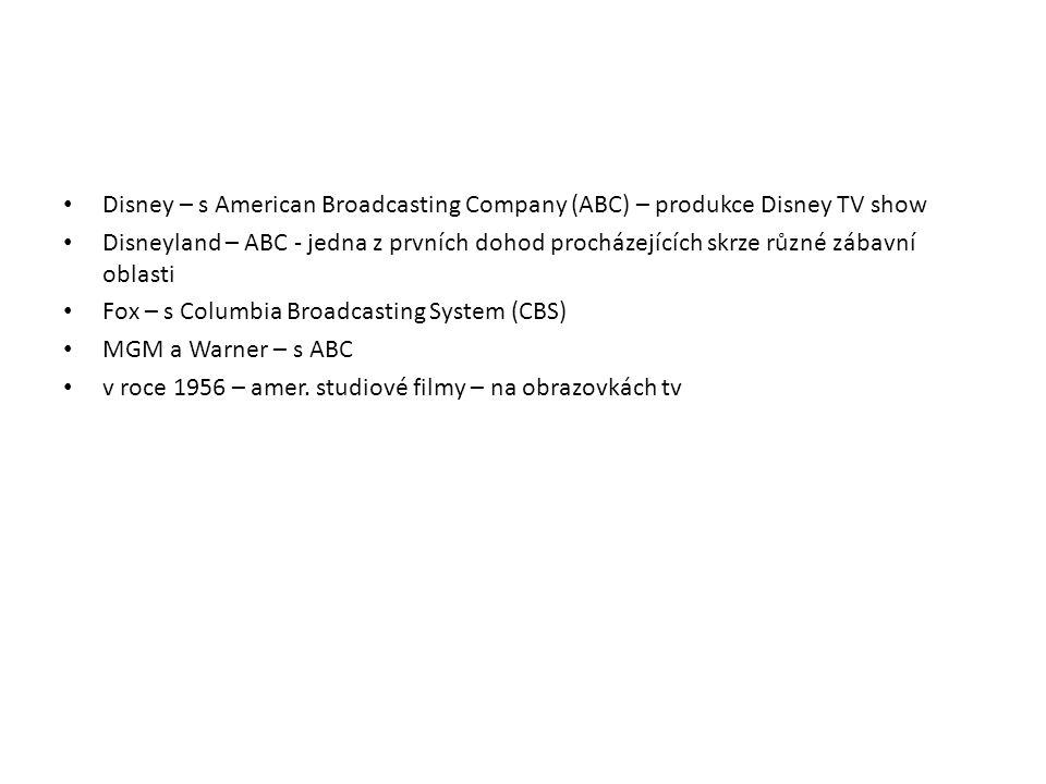Disney – s American Broadcasting Company (ABC) – produkce Disney TV show