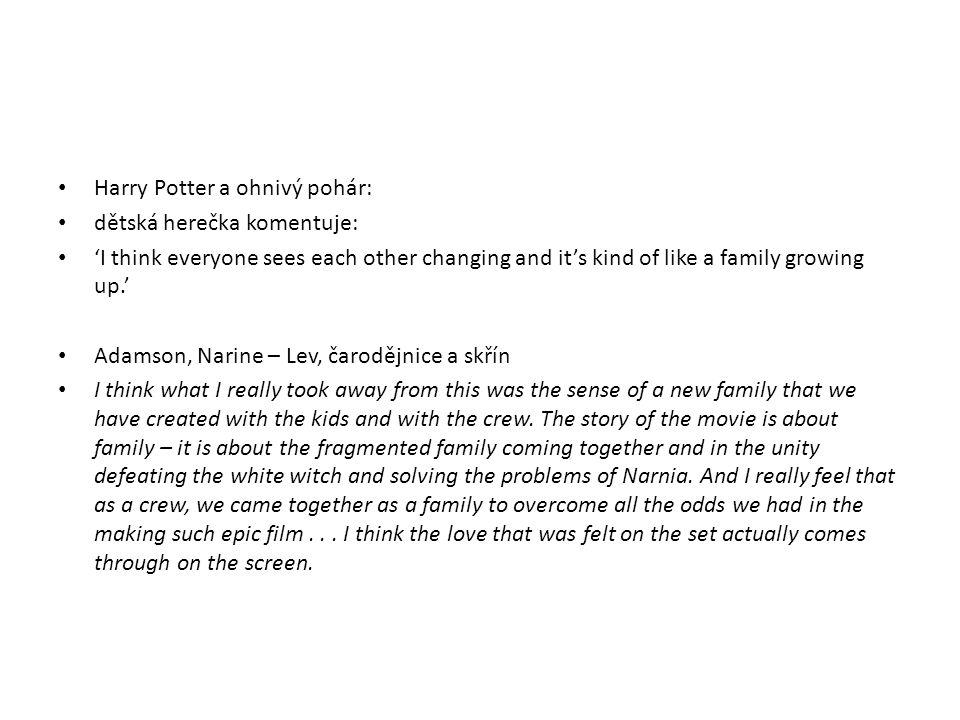 Harry Potter a ohnivý pohár: