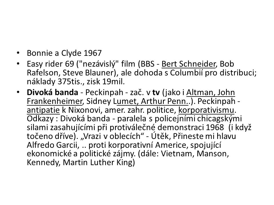 Bonnie a Clyde 1967
