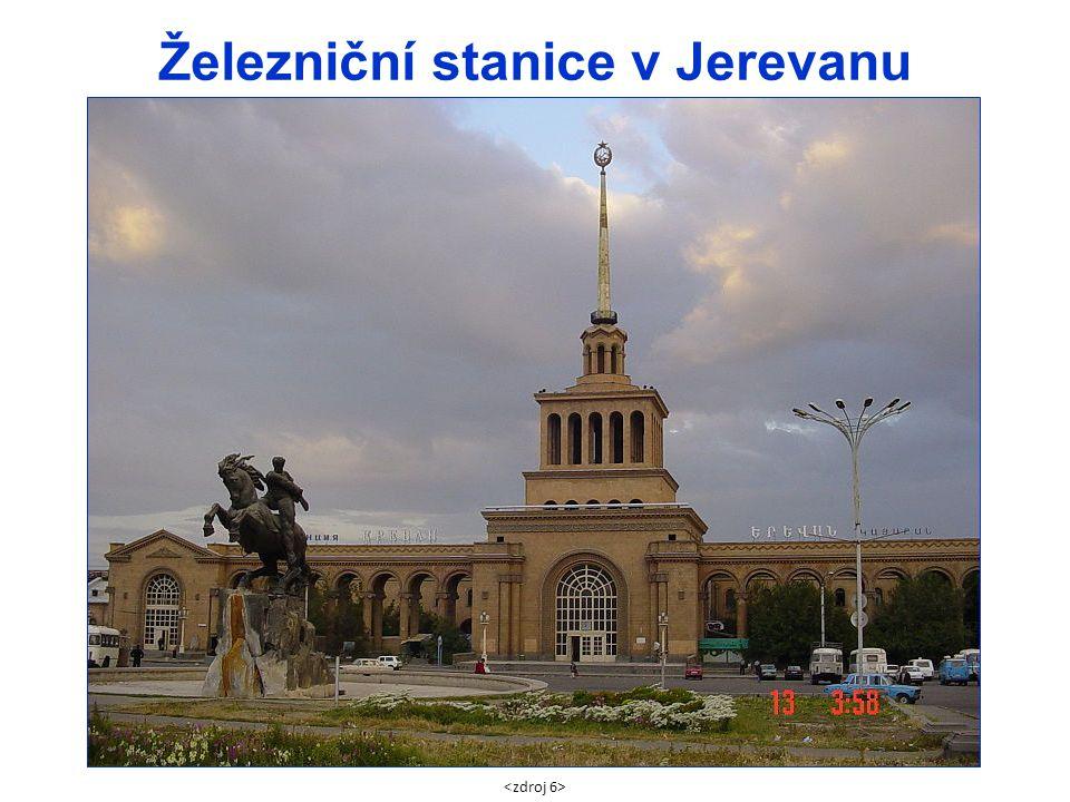 Železniční stanice v Jerevanu