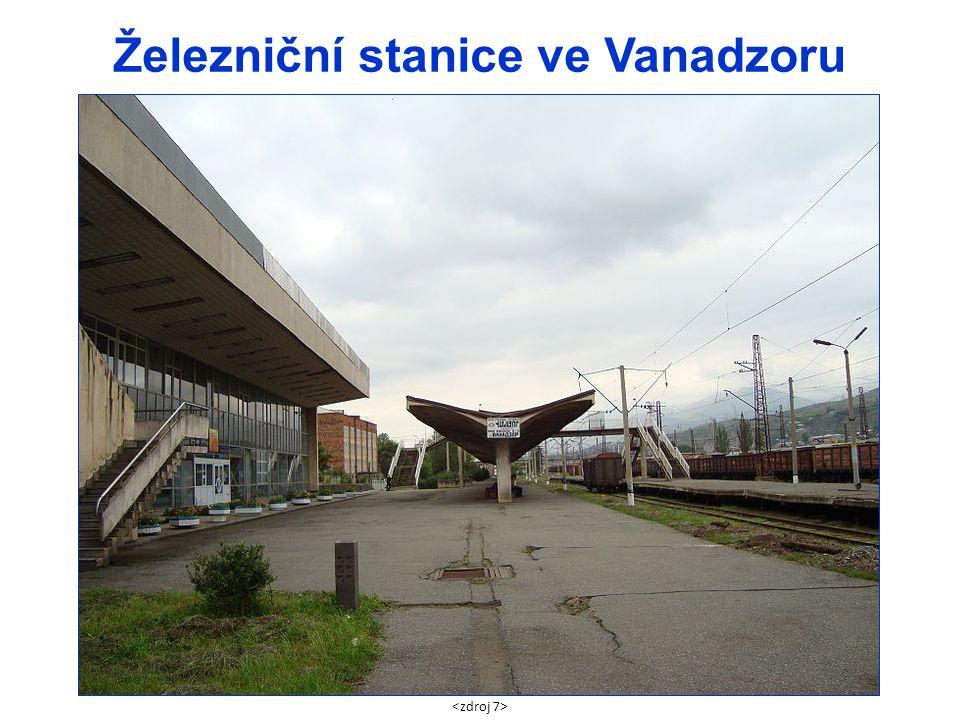 Železniční stanice ve Vanadzoru