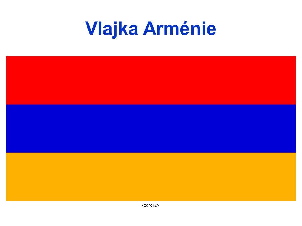 Vlajka Arménie <zdroj 2>
