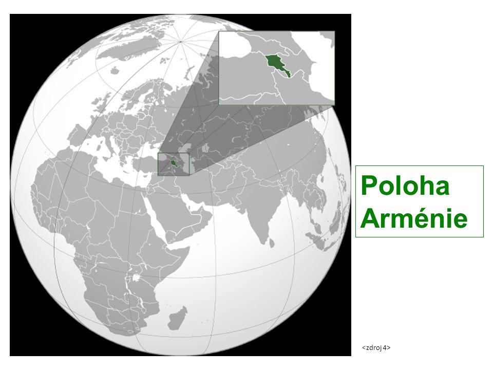 Poloha Arménie <zdroj 4>