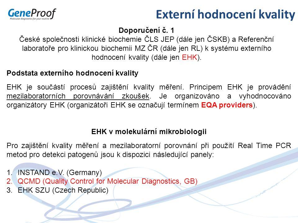 EHK v molekulární mikrobiologii