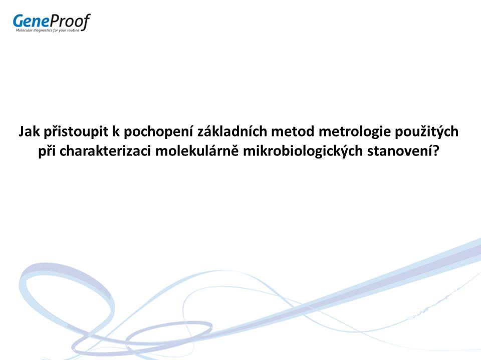 Jak přistoupit k pochopení základních metod metrologie použitých při charakterizaci molekulárně mikrobiologických stanovení