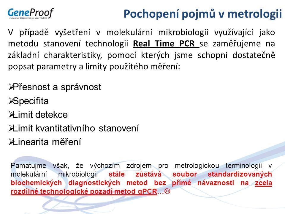 Pochopení pojmů v metrologii