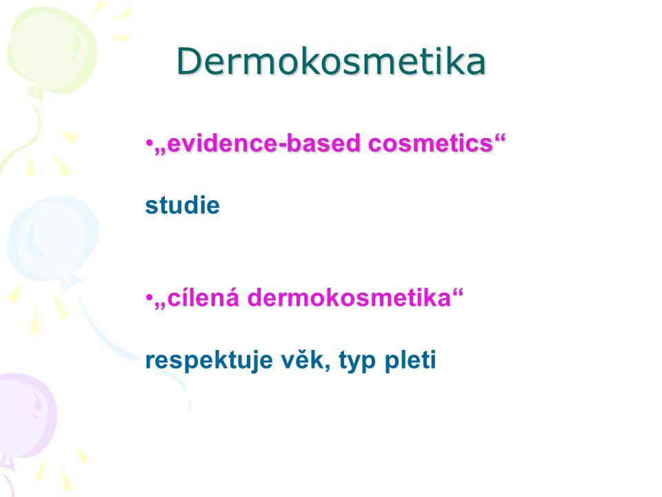 "Dermokosmetika ""evidence-based cosmetics studie"