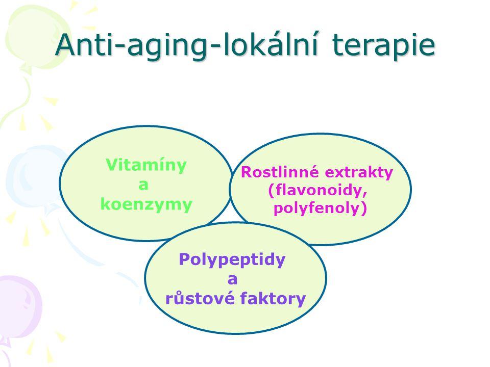 Anti-aging-lokální terapie