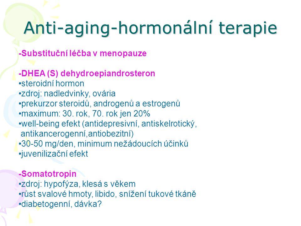 Anti-aging-hormonální terapie