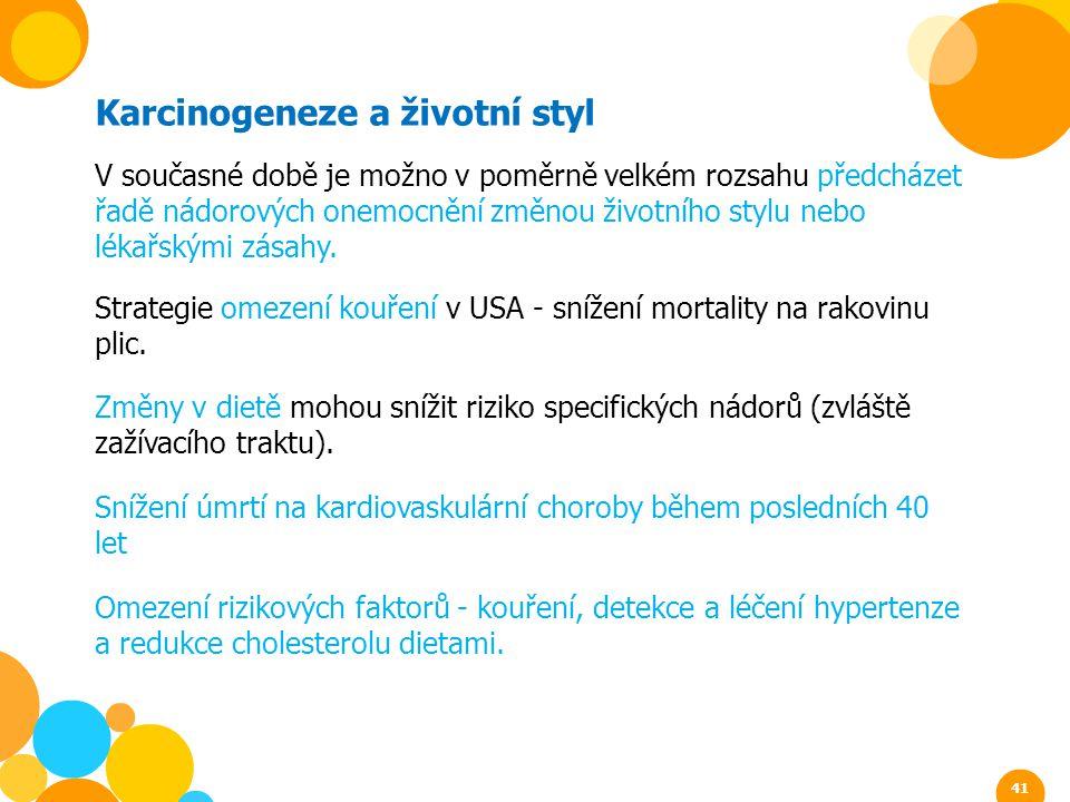 Karcinogeneze a životní styl