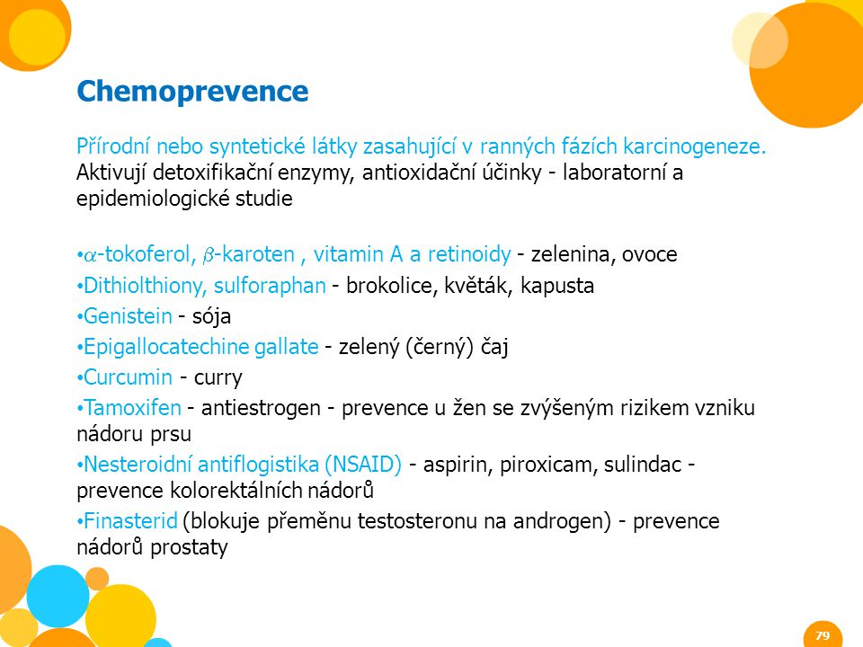 Chemoprevence