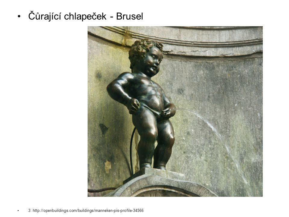 Čůrající chlapeček - Brusel