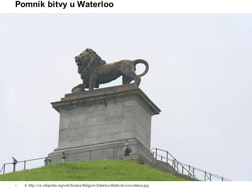 Pomník bitvy u Waterloo