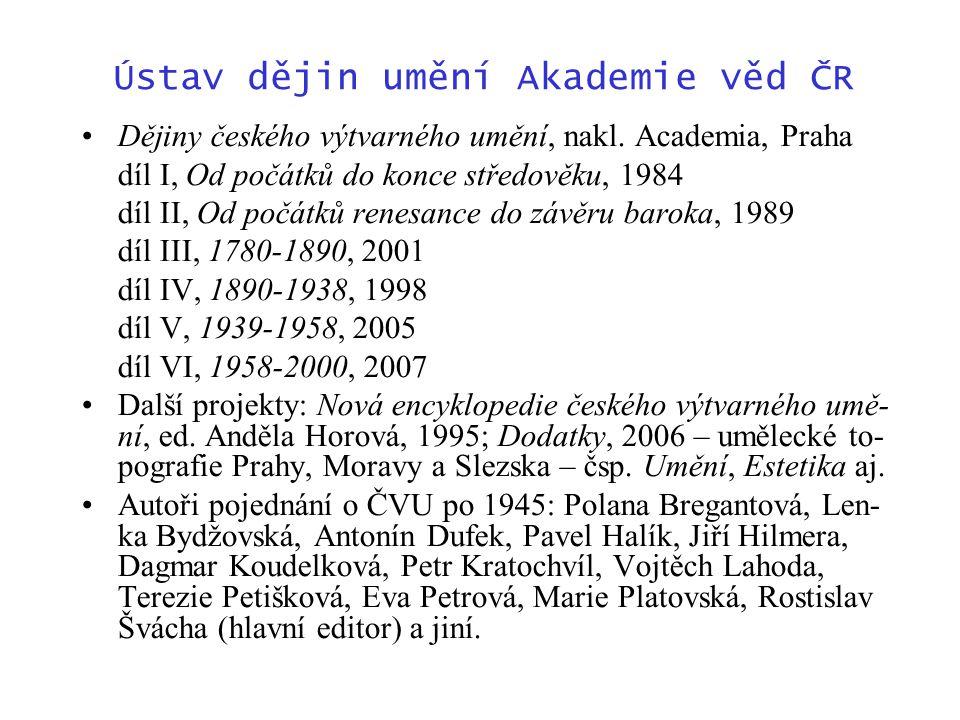 Ústav dějin umění Akademie věd ČR