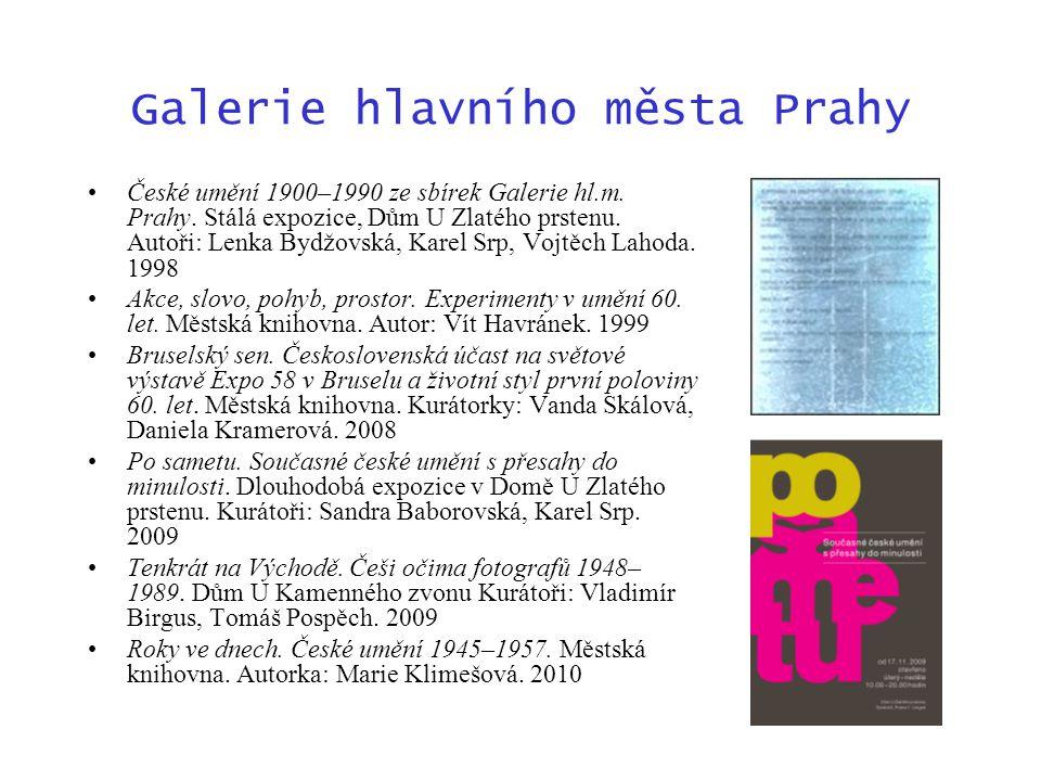 Galerie hlavního města Prahy